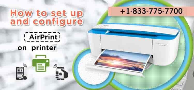How to Set up and Configure AirPrint on HP printer?