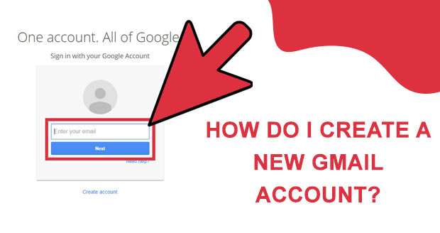 How do I create a new Gmail account?